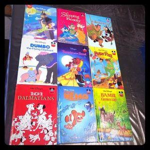 Disney Classic Story books 9 total